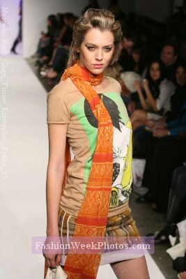 Kristopher Enuke at Mercedes-Benz Fashion Week March 2007 - Los Angeles